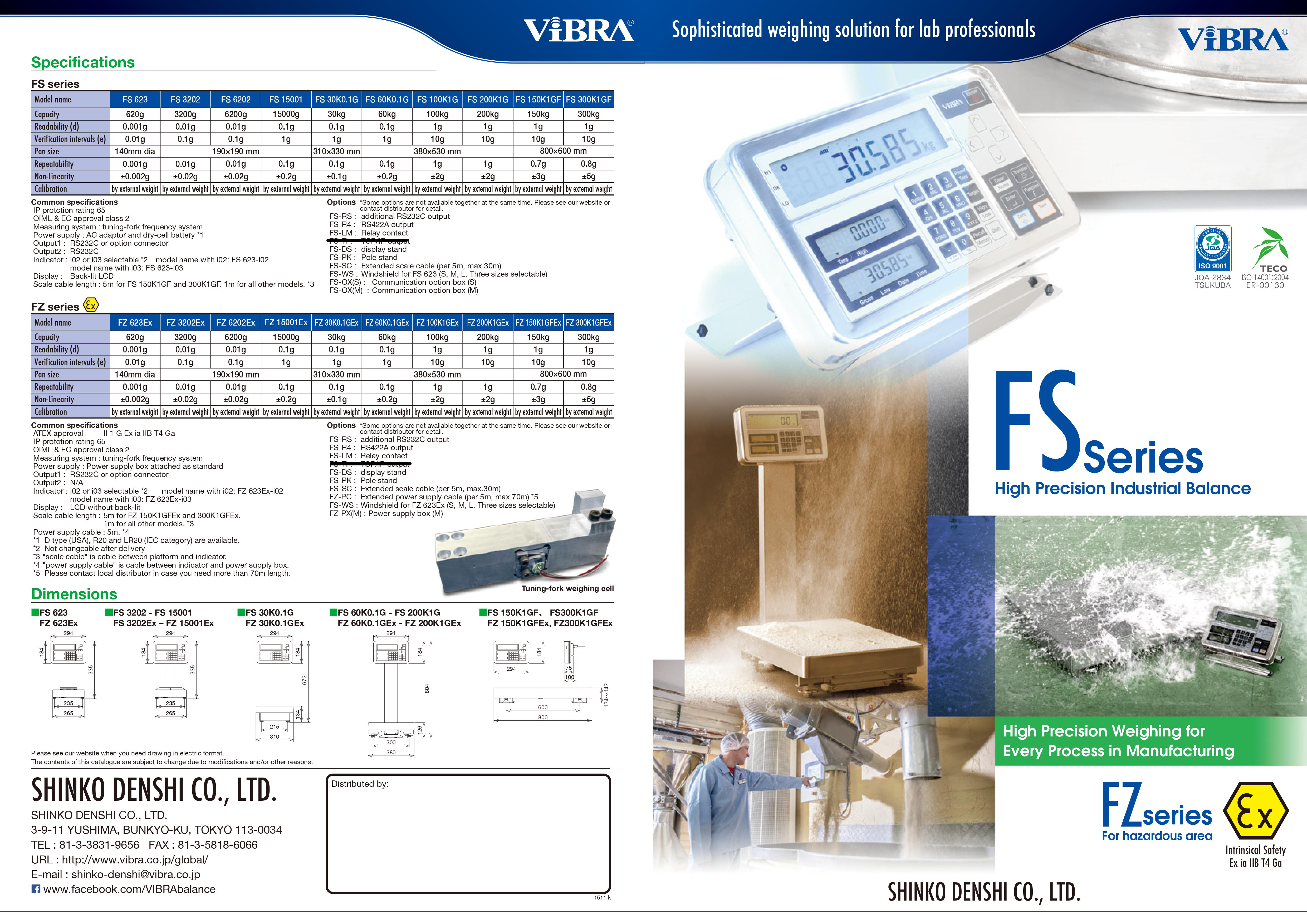FS series platform scales1
